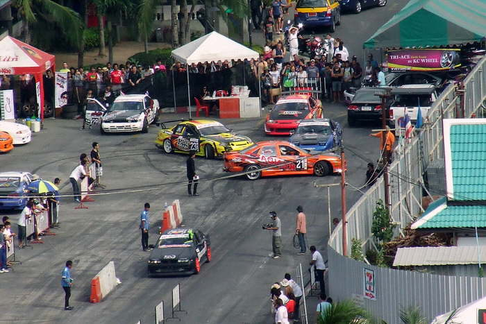 Pattaya Cardrifting Race 2012