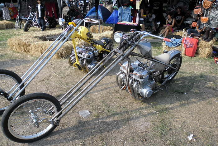 Chopper Custom Bikes Bild