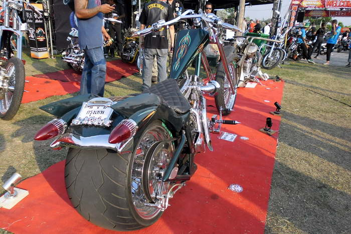 Custom Motorbikes Chopper